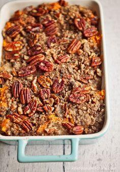 Mama's Thanksgiving Yams. Recipe @ kristaandmichele.com