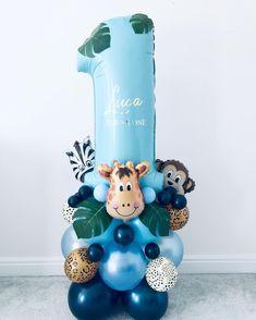 Likes, 26 Comments – The Bespoke Balloon Co Ltd ( on Ins… Likes, 26 Comments – The Bespoke 1st Birthday Balloons, Boys 1st Birthday Party Ideas, Jungle Theme Birthday, Birthday Balloon Decorations, Elmo Birthday, Balloon Bouquet, Balloon Garland, Safari Party, Ballon Arrangement