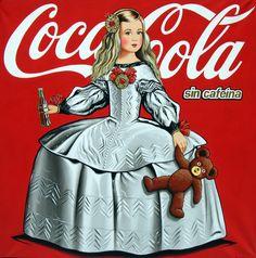 Menina con Coca-Cola