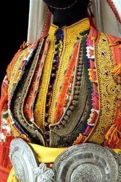 Kastoria Macedonian dress , detail