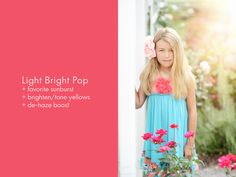 Florabella Color & Light Photoshop Actions and Overlays - Florabella Collection Photoshop Actions