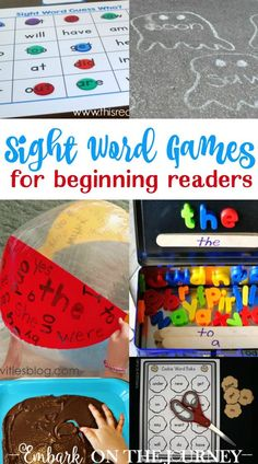 19 Sight Words Activ