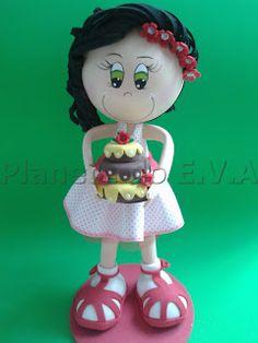 Fofucha con pastelito
