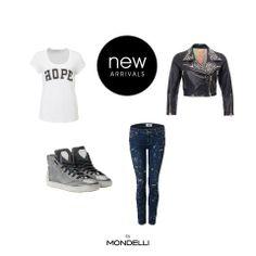 Jetzt entdecken und shoppen auf www.mondelli-lifestyle.com  Easy Nero Silver Paige Verdugo  S.W.O.R.D Vintage Nero  Custommade Shirt