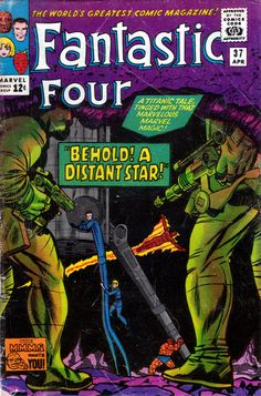 Fantastic Four 37 - Stan Lee and Jack Kirby