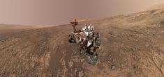 Curiosity Mars rover photobombed by Mount Sharp
