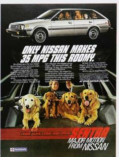Vintage Car Advertisements of the 1980s (Page 35)