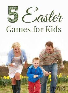 5 Easter Games for Kids