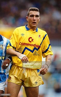 Chelsea player Vinnie Jones in action during a League Division One match between Coventry City and Chelsea at Highfield Road on November 2 1991 in...