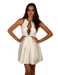 Tribeca Exchange | Jacquard A-line dress