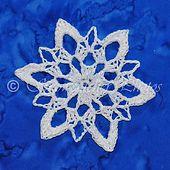 Ravelry: Snoqualmie Snowflake pattern by Deborah Atkinson