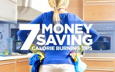 Can't Afford The Gym? Get A Household Workout Instead..burn calories and save loads of cash