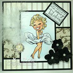 Blonde Bombshell  Kenny K Stamps