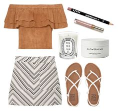 """Summer Date Night"" by gemgem-45 ❤ liked on Polyvore featuring MANGO, Billabong, Diptyque, Byredo and NYX"