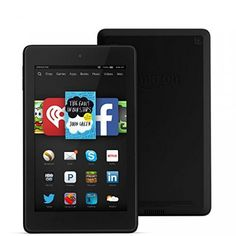Fire HD 6, 6″ HD Display, Wi-Fi, 8 GB – Includes Special Offers, Black