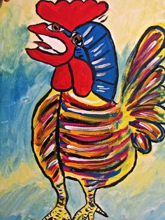 Do Art!: Picasso Rooster