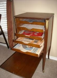 LOVE LOVE CD and Sheet Music Storage Cabinet | ♫ Choral Music ...