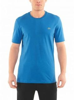 LACOSTE SHORT SLEEVE CLASSIC JERSEY MENS T-Shirts TH6650-51-S52 BALTIQUE SZ-S