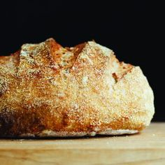 Long-Fermented White Sourdough Loaf