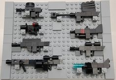 LEGO Weapons - Array 1
