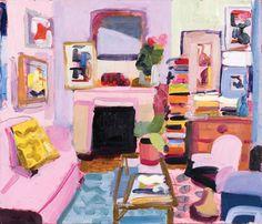 John Bokor - King Street Gallery on William Painting Inspiration, Art Inspo, Painting Corner, Cool Paintings, Art Portfolio, Art Sketchbook, Aesthetic Art, Cute Art, Modern Art