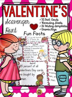 In whose honor was Valentines Day celebrated? How many candy hearts are produced for Valentines Day each year? Where is the oldest Valentines Day card displayed? https://www.teacherspayteachers.com/Product/VALENTINES-DAY-2354247