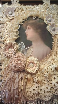 Victorian Elegance Wall Hanging by Margaret