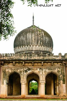 Qutub Shahi Tombs, Hyderabad. For some more beautiful snaps: http://urban-indian.net/travel/hyderabad-travel-2/qutb-shahi-tombs-hyderabad/