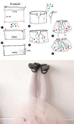 Мастер-класс. Как сшить юбку из фатина с шариками для девочки в одном фото Шьется такая юбка очень легко и быстро. Итак, нам понадо...