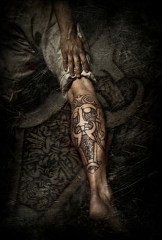 The face of a god, pro-photo by Meatshop-Tattoo.deviantart.com