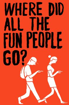 Jean Jullien - Where did all the fun people go?