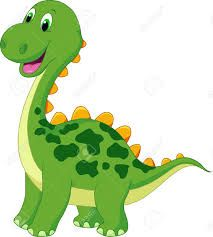 Dibujos de dinosaurios chistosos a colores  Imagui  Rutines