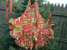 Mountain  Friends Winter Apron Full Length by georgiamarbles, $24.50