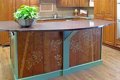 furniture and cabinets with our stencil designs and plaster molds