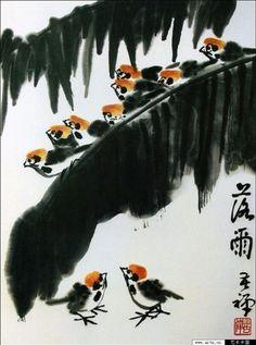 Работы художника Ли Кучань