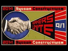 Photoshop: How to Make a Vintage, Russian Constructivist Poster - YouTube