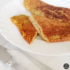 Omelete Simples de Linhaça e Tofu (sem ovos) | Simple Omelette Linseed and Tofu (eggless)