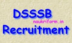 DSSSB job openings 2015