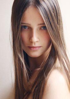 pretty model face