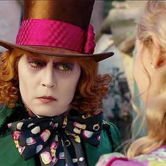 Movies: Alice Through the Looking Glass: The Hatter's the matter in two new clips