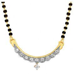 marigold #diamond #gold #mangalsutra