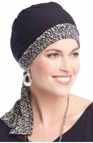 Reversible In a Snap Head Wrap in Bamboo by Cardani
