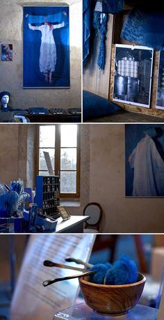 Le bleu de Lectoure