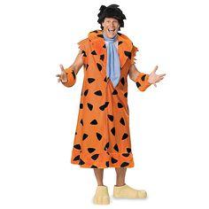 Funky Flintstones Fred Flintstone Adult Plus Costume. Delightful ideas of Flintstones Costumes for Halloween at PartyBell. Fred Flintstone Halloween Costume, Flintstones Costume, Halloween Costumes For Teens, Adult Halloween, Adult Costumes, Men's Costumes, Funny Halloween, Halloween Ideas, Trendy Halloween