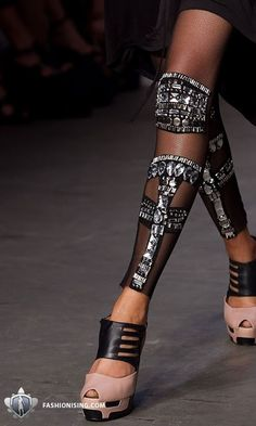 Lucette: Inspired by Ancient greek Greaves, or shin guards.