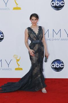Emmy Awards 2012 Red Carpet Fashion