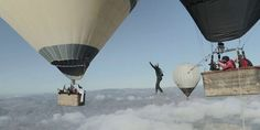 Βόλτα στα σύννεφα με αερόστατο!