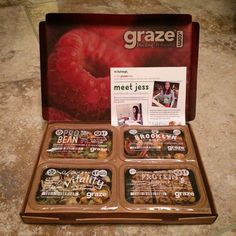One of my recent @grazedotcom boxes - these have been a huge part of my recovery since September... 2013!