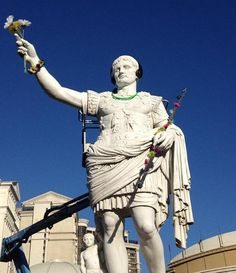 I always knew Romans were the first to PARTY
