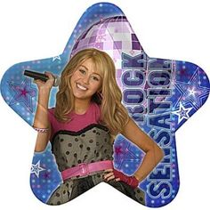 Hannah Montana Rock The Stage Lunch Plates